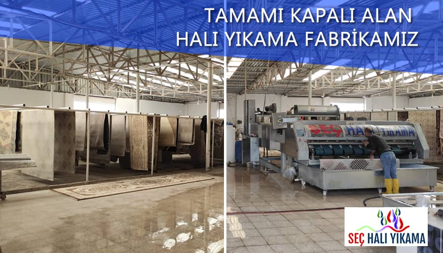 halı yıkama fabrikamız